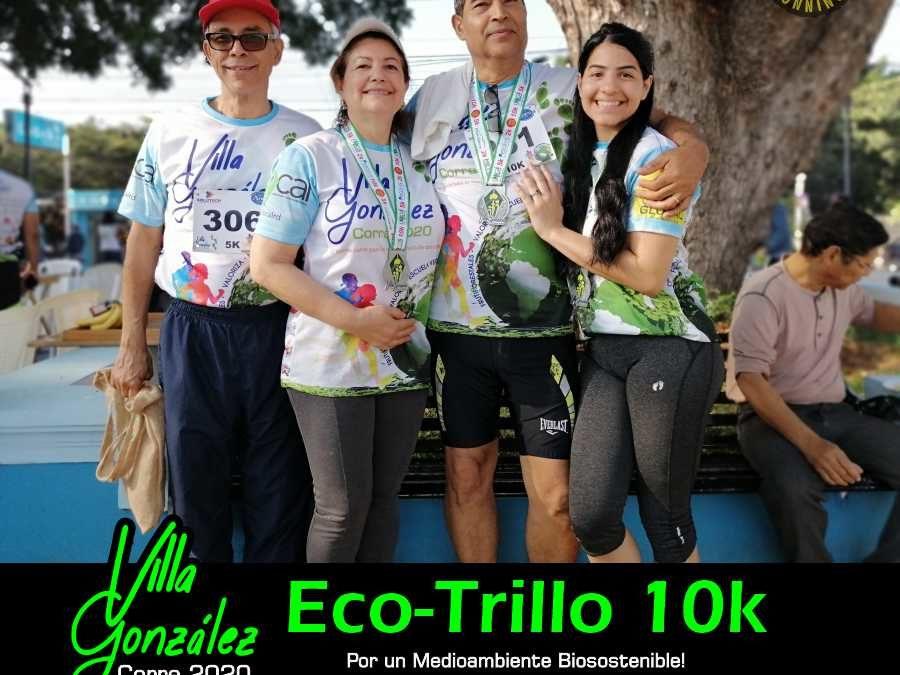 Eco-trillo 10k Villa González 2020